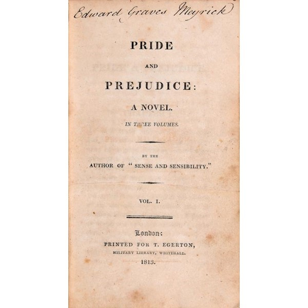 AUSTEN PRIDE AND PREJUDICE A NOVEL Image